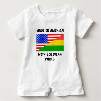 Made In American With Bolivian Parts Infant Romper