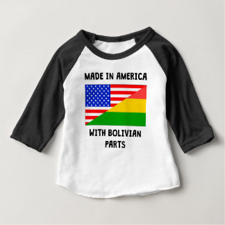 Made In American With Bolivian Parts T Shirt