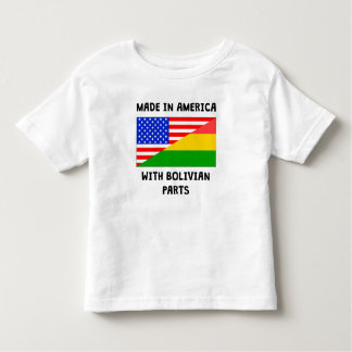 Made In American With Bolivian Parts Tee Shirt
