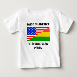 Made In American With Bolivian Parts Tshirt