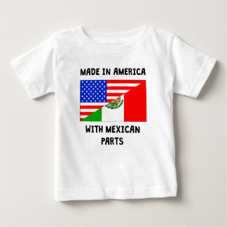 Made In American With Mexican Parts Shirt