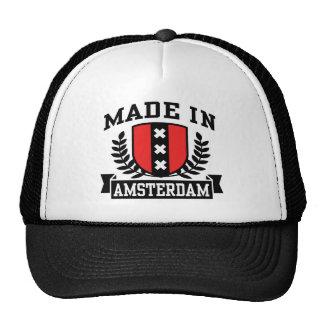 Made In Amsterdam Mesh Hats