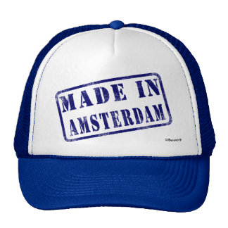 Made in Amsterdam Hat