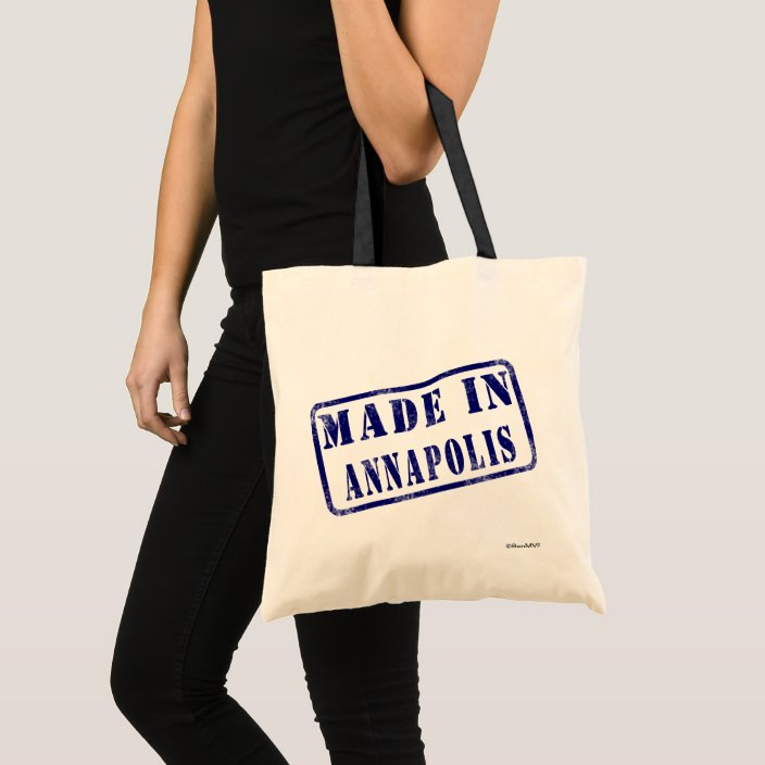 Made in Annapolis Canvas Bag