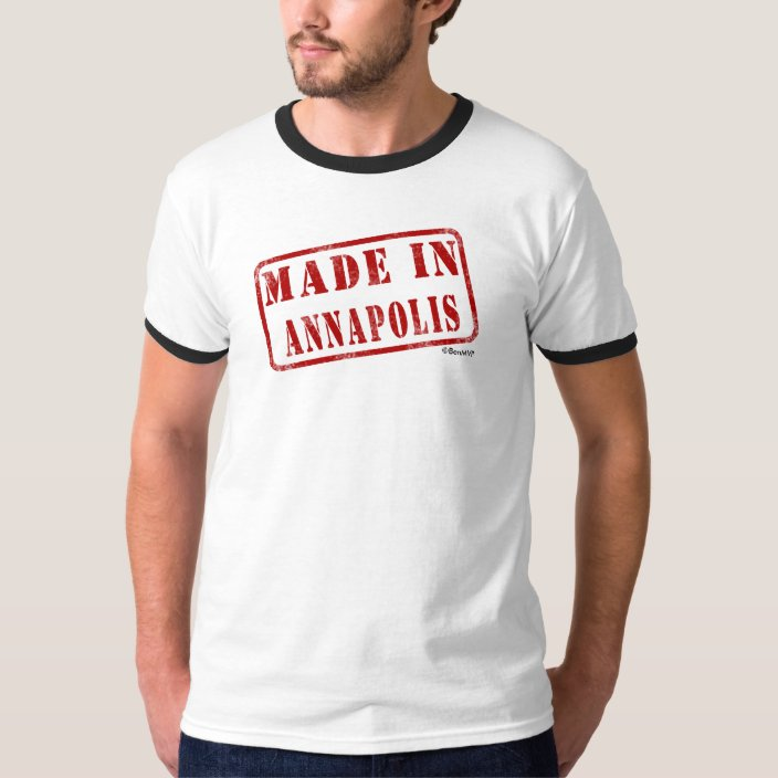 Made in Annapolis T Shirt