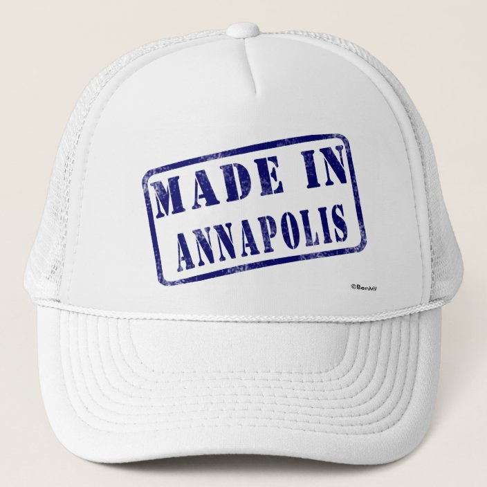 Made in Annapolis Trucker Hat