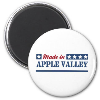 Made in Apple Valley 2 Inch Round Magnet