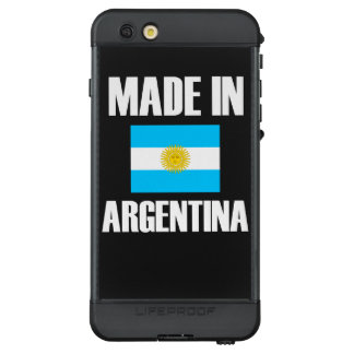 Made In Argentina Flag LifeProof NÜÜD iPhone 6s Plus Case