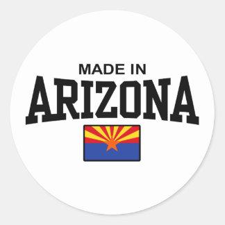 Made In Arizona Classic Round Sticker