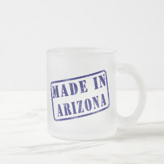 Made in Arizona Frosted Glass Coffee Mug