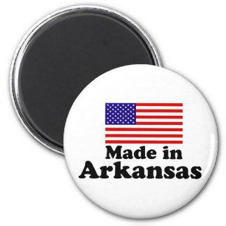 Made in Arkansas 2 Inch Round Magnet