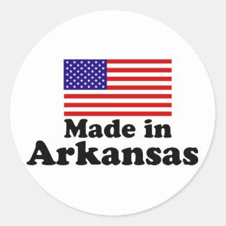 Made in Arkansas Classic Round Sticker