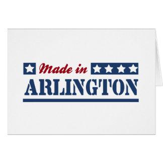 Made in Arlington Greeting Card