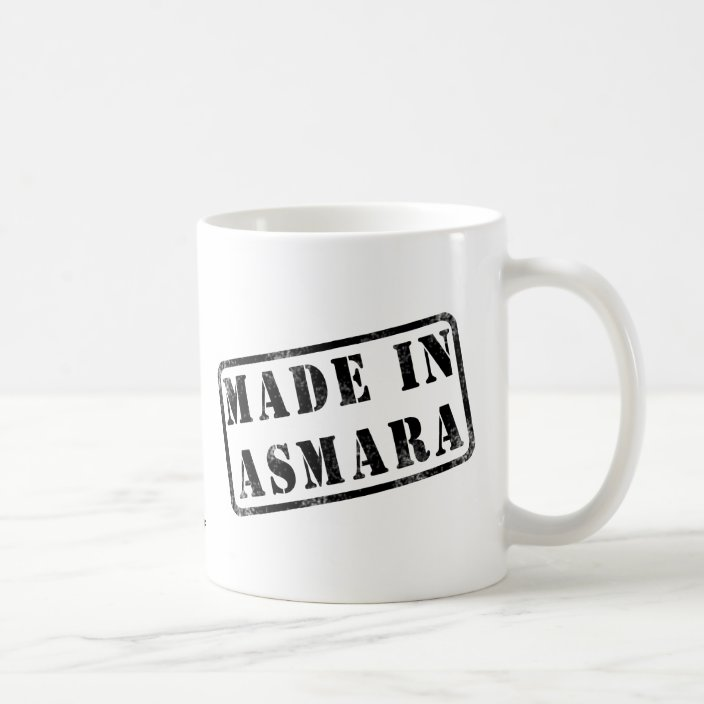 Made in Asmara Coffee Mug