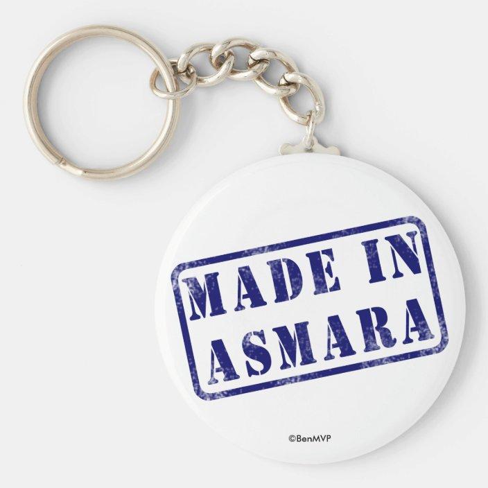 Made in Asmara Key Chain