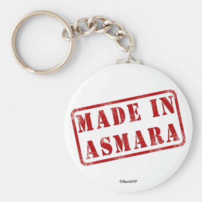 Made in Asmara Keychain