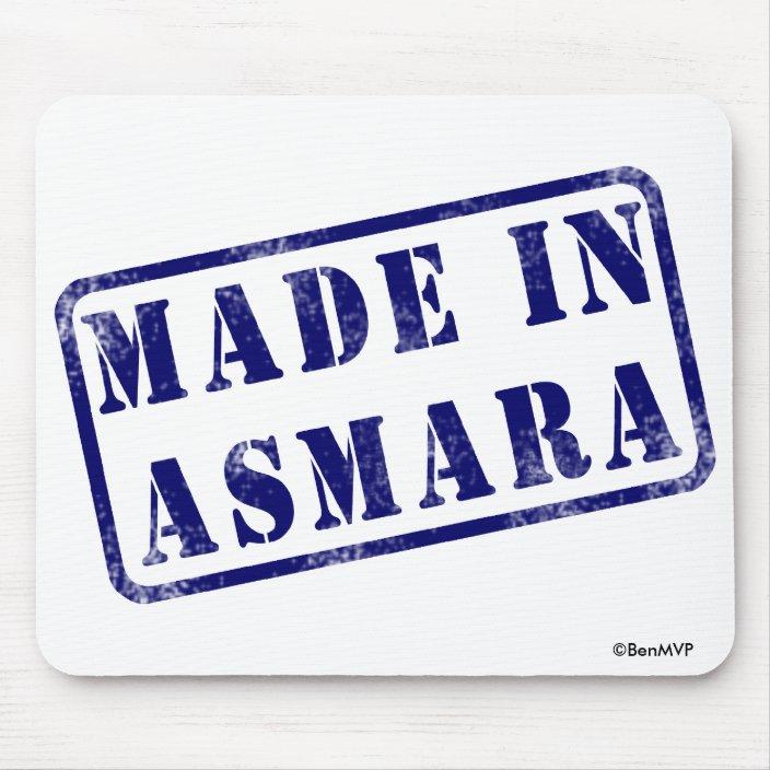 Made in Asmara Mouse Pad
