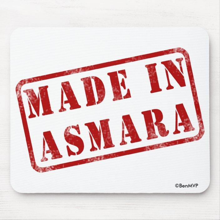 Made in Asmara Mousepad