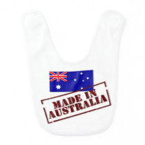 Made In Australia Baby Bib