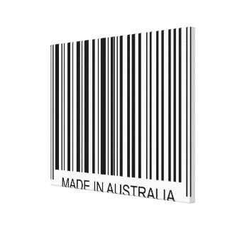 Made in Australia Canvas Print
