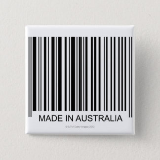Made in Australia Pinback Button