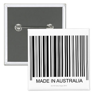 Made in Australia Pinback Button