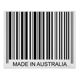 Made in Australia Poster