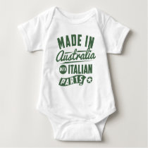 Made In Australia With Italian Parts Baby Bodysuit