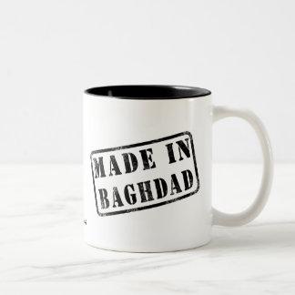 Made in Baghdad Two-Tone Coffee Mug