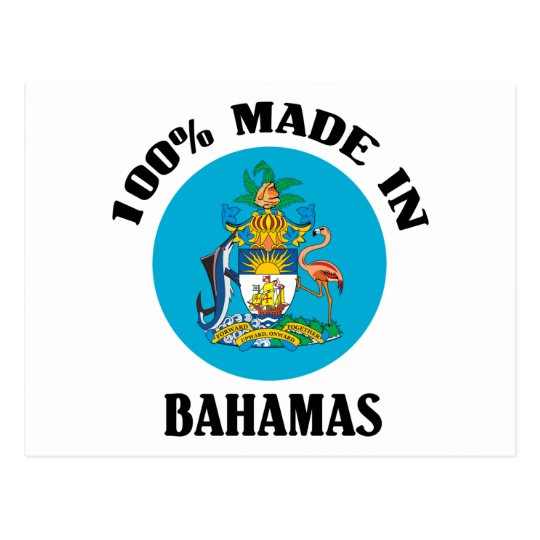 Made In Bahamas Postcard