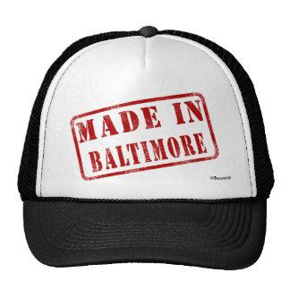 Made in Baltimore Trucker Hat
