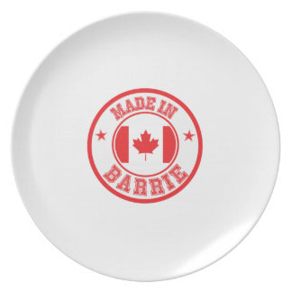 Made In Barrie Dinner Plate