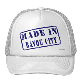 Made in Bayou City Mesh Hat