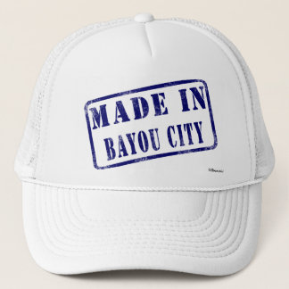 Made in Bayou City Trucker Hat