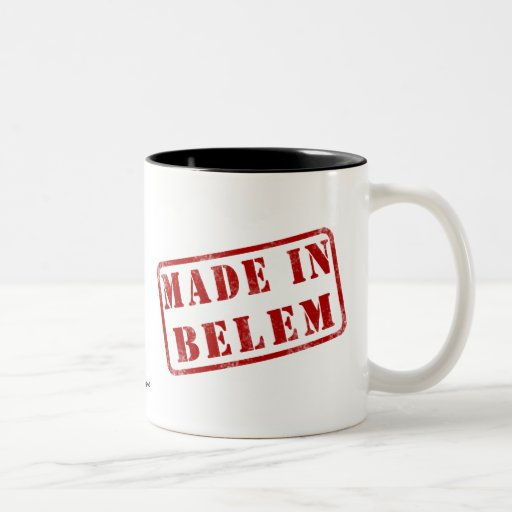 Made in Belem Two-Tone Coffee Mug