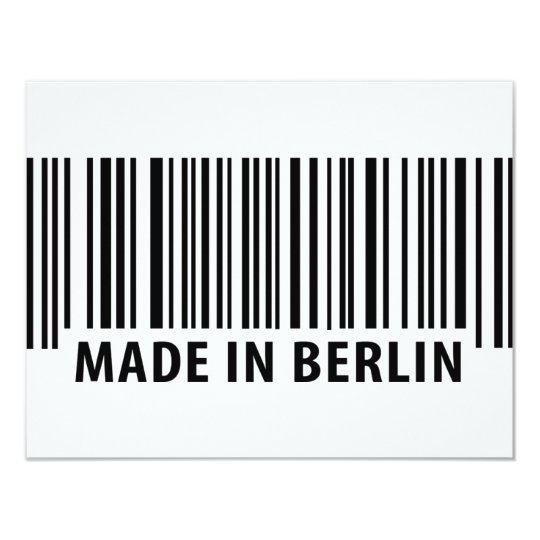 made in Berlin icon Card
