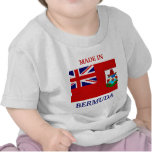 Made in Bermuda with flag of Bermuda baby shirt T-shirt