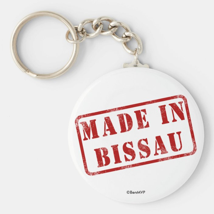 Made in Bissau Key Chain