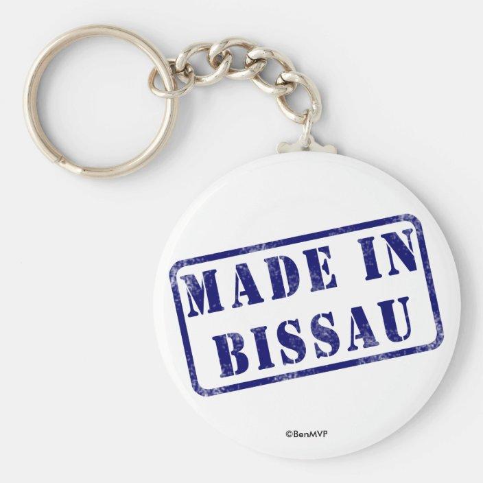 Made in Bissau Keychain