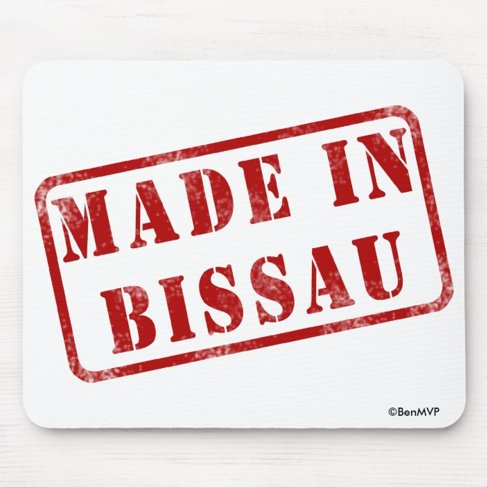 Made in Bissau Mouse Pad