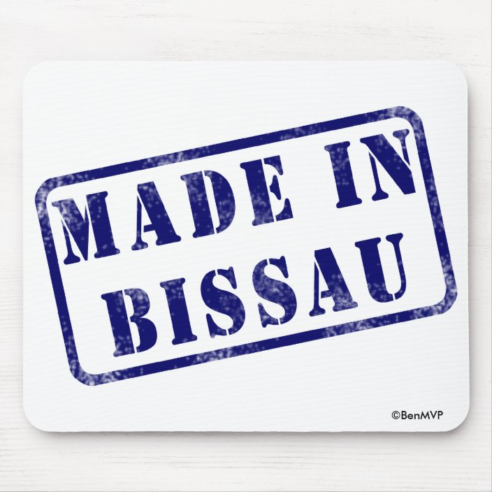 Made in Bissau Mousepad