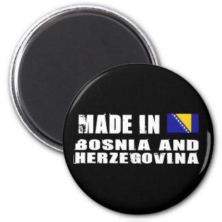 Made in Bosnia and Herzegovina 2 Inch Round Magnet
