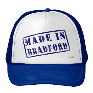 Made in Bradford Trucker Hats