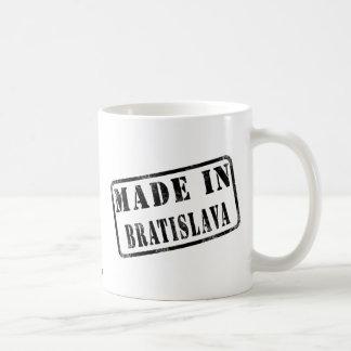 Made in Bratislava Classic White Coffee Mug