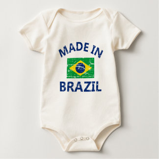 Made in Brazil Baby Bodysuit