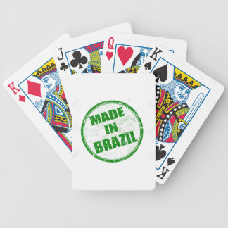 MADE IN BRAZIL BICYCLE PLAYING CARDS