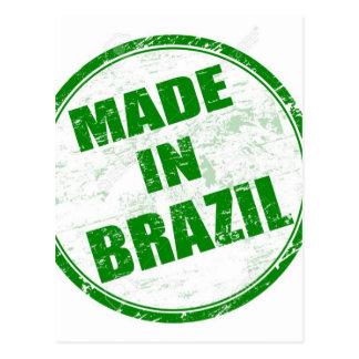 MADE IN BRAZIL POSTCARD