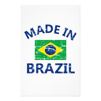Made in Brazil Stationery