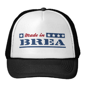 Made in Brea Mesh Hats
