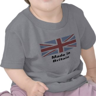 Made in Britain - baby vest shirt